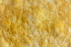 Struttura della crosta o della cottura del pane Fotografia Stock Libera da Diritti