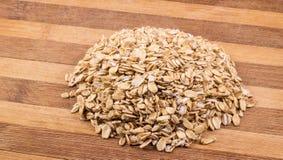 Struttura della farina d'avena Fotografia Stock