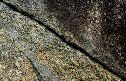 Struttura della fenditura della parete della roccia immagine stock