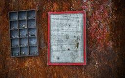 Struttura della foto che può essere inserita in una foto Immagini Stock Libere da Diritti
