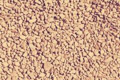 Struttura della ghiaia del granito Fotografie Stock