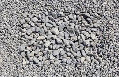 Struttura della ghiaia del granito Fotografie Stock Libere da Diritti