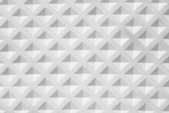 Struttura della gomma delle mattonelle del quadrato bianco Fotografia Stock Libera da Diritti