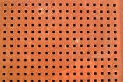 Struttura della griglia del ferro Fotografie Stock