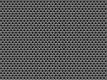 Struttura della griglia del metallo Fotografie Stock