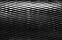 Struttura della griglia dell'altoparlante Fotografia Stock
