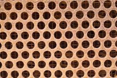 Struttura della griglia o dello sfiato fotografie stock