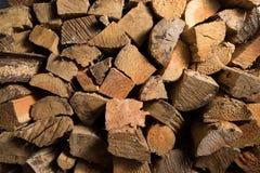 Struttura della legna da ardere Immagini Stock Libere da Diritti