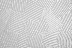 Struttura della linea stracciata del pettine, fondo approssimativo di bianco della cresta Immagini Stock Libere da Diritti