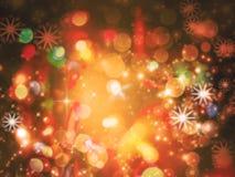 Struttura della luce del fondo di Natale Fotografia Stock Libera da Diritti