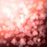 Struttura della luce di Bokeh Fotografie Stock