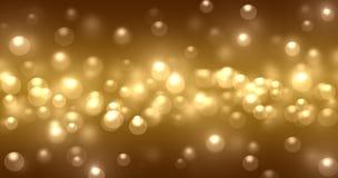 Struttura della luce di Bokeh Fotografia Stock