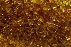 Struttura della mica dell'oro Fotografie Stock