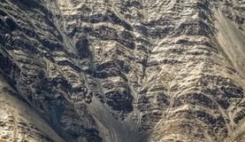 Struttura della montagna fotografia stock