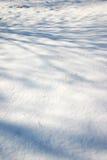 Struttura della neve Fotografie Stock