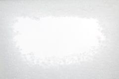 Struttura della neve con lo spazio bianco della copia Immagini Stock Libere da Diritti
