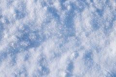 Struttura della neve di inverno Immagini Stock