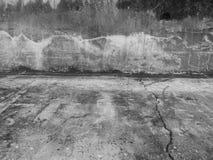 Struttura della parete in bianco e nero Fotografia Stock Libera da Diritti