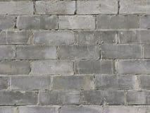 Struttura della parete dei blocchi in calcestruzzo Fotografie Stock Libere da Diritti