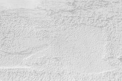 Struttura della parete del cemento bianco Immagini Stock Libere da Diritti