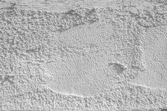 Struttura della parete del cemento bianco Fotografie Stock Libere da Diritti