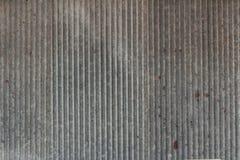 Struttura della parete del fondo da vecchio zinco Immagine Stock Libera da Diritti