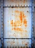Struttura della parete dell'acciaio inossidabile Fotografia Stock