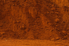 Struttura della parete della terra Immagini Stock