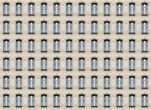 Struttura della parete delle finestre dell'arco Immagine Stock Libera da Diritti