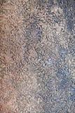 Struttura della parete di pietra in Angkor, Cambogia Fotografia Stock Libera da Diritti