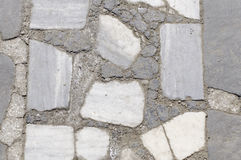 Struttura della parete di pietra del cemento Fotografia Stock Libera da Diritti