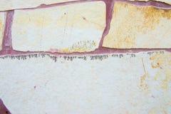 Struttura della parete di pietra per fondo Fotografie Stock