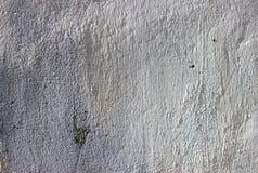 Struttura della parete dipinta, pittura bianca fotografie stock libere da diritti