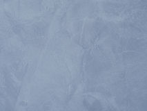Struttura della parete - struttura decorativa grigia blu-chiaro del gesso Fotografia Stock