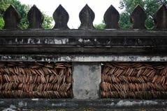 Struttura della parete a Wat Phre Keaw immagini stock libere da diritti