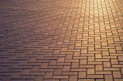 Struttura della pavimentazione Immagine Stock