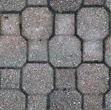 Struttura della pavimentazione in calcestruzzo Immagine Stock Libera da Diritti