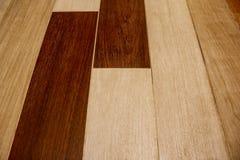 Struttura della pavimentazione di legno Immagini Stock