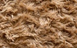 Struttura della pelliccia artificiale Fotografie Stock Libere da Diritti