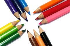 Struttura della penna di colore Immagini Stock Libere da Diritti