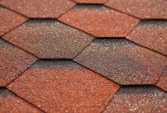 Struttura della piastrellatura del tetto Fotografia Stock
