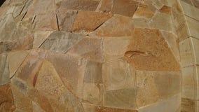 Struttura della pietra decorativa sulla parete fotografie stock libere da diritti