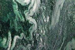 Struttura della pietra del granito di verde di Lapia lucidata Fotografie Stock
