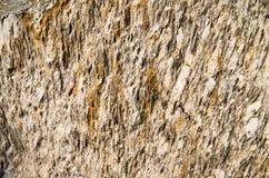Struttura della pietra di Brown Fotografia Stock Libera da Diritti