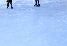 Struttura della pista di pattinaggio del ghiaccio Fotografia Stock