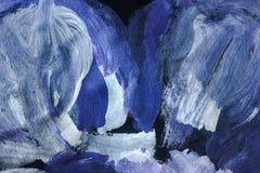 Struttura della pittura ad olio su tela, fondo della pittura struttura variopinta della pittura illustrazione di stock