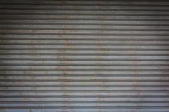 Struttura della porta del metallo Immagini Stock Libere da Diritti