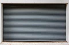 Struttura della porta del metallo Fotografia Stock