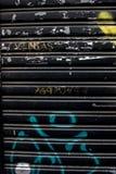Struttura della porta del rullo di invecchiamento Fotografie Stock Libere da Diritti