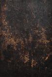Struttura della priorità bassa del cuoio di colore marrone scuro. Immagine Stock Libera da Diritti